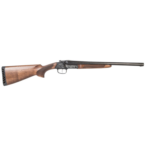 AMERICAN TACTICAL Road Agent Side by Side 12 Gauge 18.5in 2rd 3in Chamber Wood Shotgun (ATIGKOF12RA)