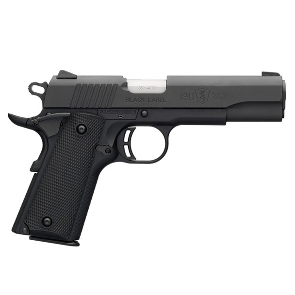 BROWNING Black Label 380 ACP 4.25in 8rd 1911 Pistol (051904492)