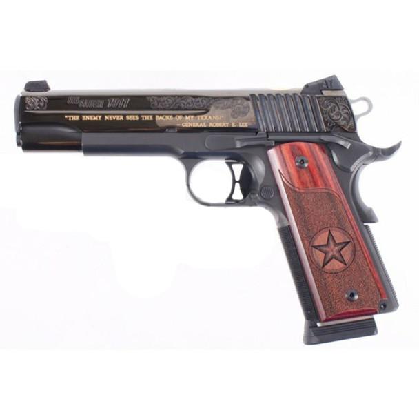 SIG SAUER 1911 Black Texas 5in 45 ACP 8rd Pistol (1911-45-TXG)