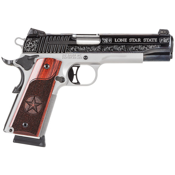 SIG SAUER 1911 Stainless Texas 5in 45 ACP 8rd Pistol (1911-45-TXS)