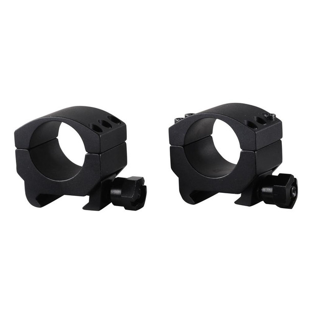 BURRIS Xtreme Tactical 1in Low Matte Black Rings (420180)