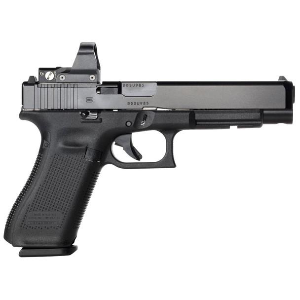 GLOCK G34 Gen5 MOS 9mm 5.31in 17rd Adjustable Sights Pistol (PA3430103MOS)