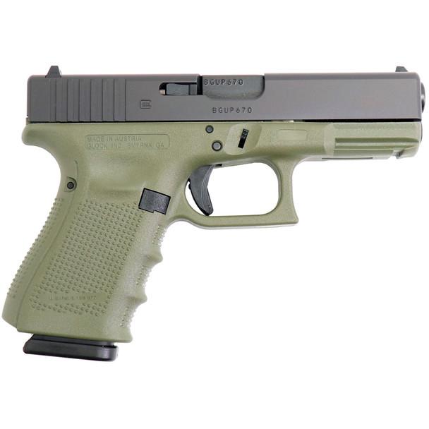 GLOCK G23 Gen 4 .40 S&W 4.02in 13rd Battlefield Green Semi-Automatic Pistol (PG2350203BFG)