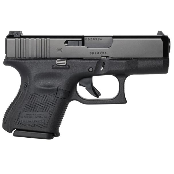 GLOCK G26 Gen5 9mm 3.43in 10Rd Glock Night Sights Pistol (UA2650701)