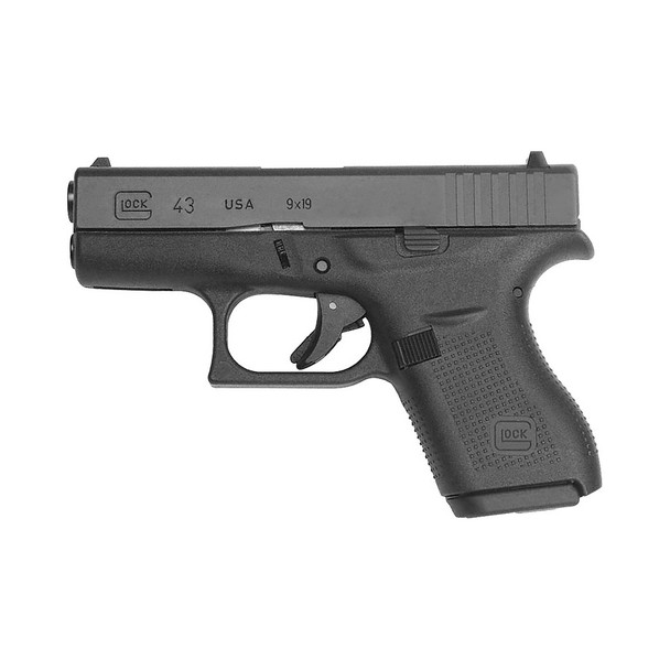 GLOCK G43 9mm 3.39in 6rd Semi-Automatic Pistol (UI4350201)