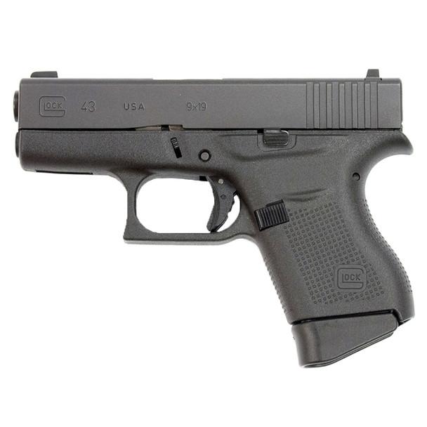 GLOCK 43 TALO Edition 9mm 3.39in Barrel 6Rd GloPro Sights Pistol (UI4350501)