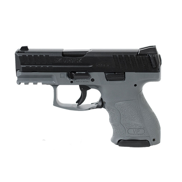 HK VP9SK Subcompact 9mm 3.39in 10rd Grey Semi-Automatic Pistol (81000099)