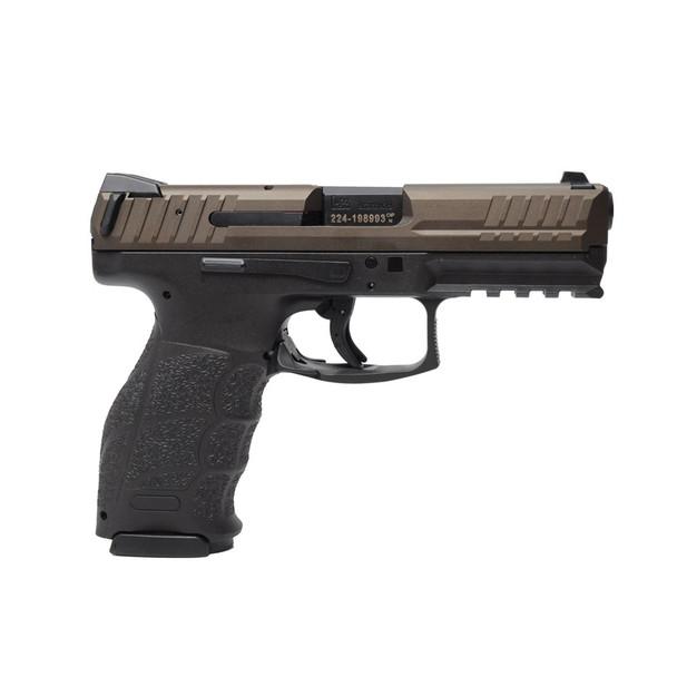 HK VP Midnight Bronze 9mm 4.09in 15rd Pistol (81000137)