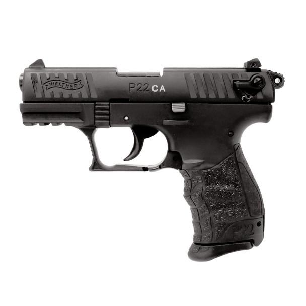 WALTHER P22-CA 22 LR 3.42in 10rd Semi-Automatic Pistol, CA Compliant (5120333)