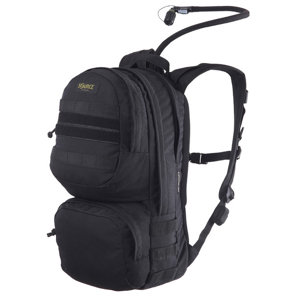 SOURCE Commander 10L/3L Black Hydration Cargo Pack (4010530103)
