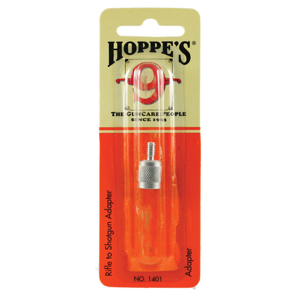 HOPPES Rifle to Shotgun Caliber Cleaning Rod Conversion Adapter (1401)