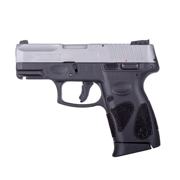 TAURUS G2C .40 S&W 3.2in 10rd Black/Stainless Semi-Automatic Pistol (1-G2C4039-10)