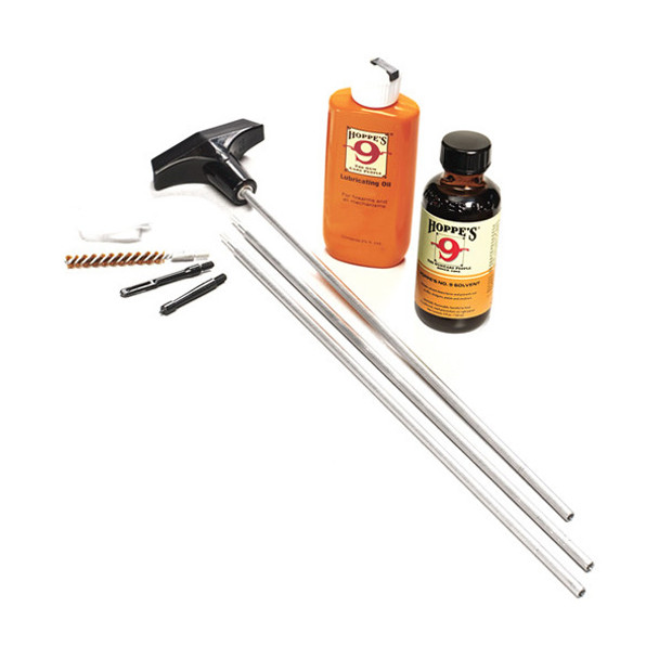 HOPPE'S 10mm .40 and .41 Caliber Pistol Aluminum Rod Cleaning Kit and Storage Box (PCO40)