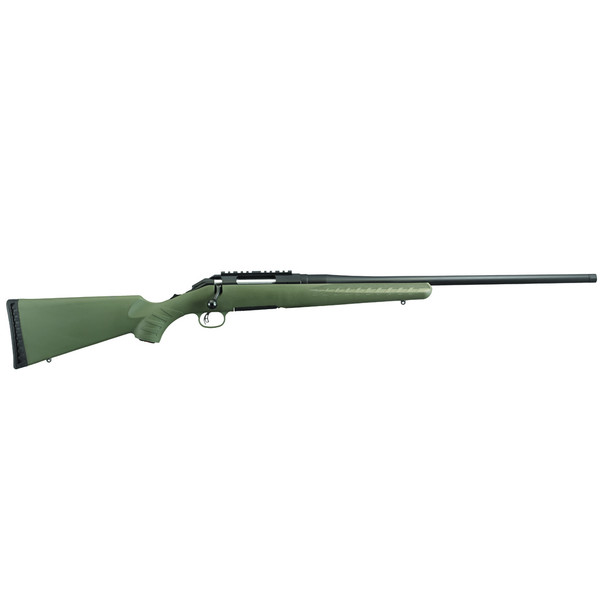 RUGER American Rifle Predator 6.5 Creedmoor 22in Threaded 4rd Moss Green Composite Stock Bolt-Action Rifle (6973)