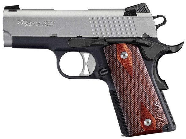 SIG SAUER 1911 Ultra Compact 9mm 3.3in 8rd Pistol (1911UTM-9-TSS)