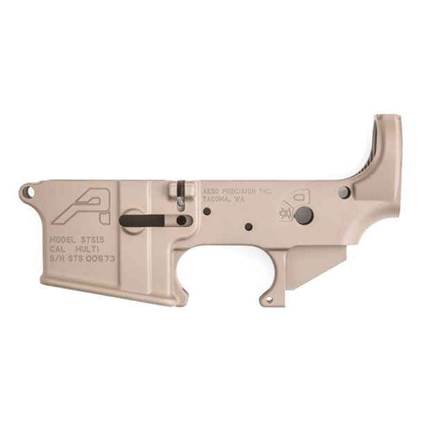 AERO PRECISION STS Stripped AR15 FDE Cerakote Lower Receiver (APAR501201C)