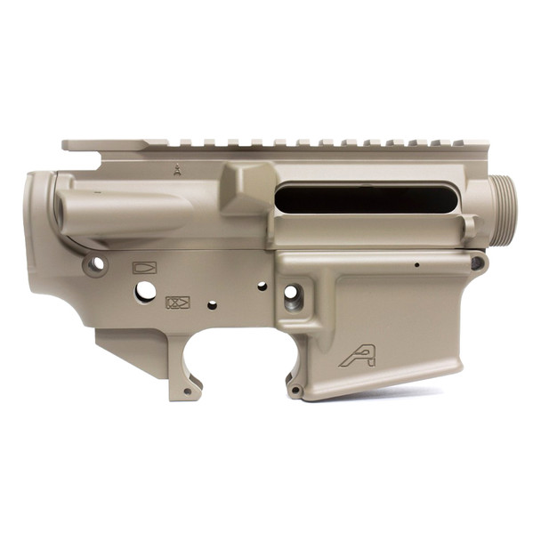 AERO PRECISION FDE Cerakote Stripped AR15 Lower Receiver Set (APCS100008)