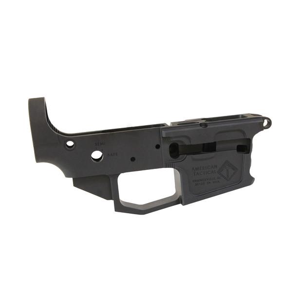 AMERICAN TACTICAL IMPORTS AR15 Milsport 9mm Stripped Lower Receiver (ATIGLOWMSG)
