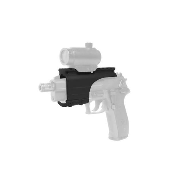 AMERICAN TACTICAL IMPORTS GSG Firefly Black Polymer Bridgemount (GER4000290B)