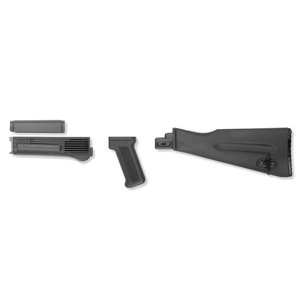ARSENAL AK-47 4-piece Black Stock Set (AKBSW)