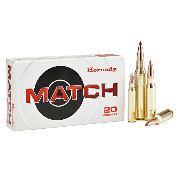 HORNADY Match 6.5 Creedmore 147Gr ELD Match 20Rd Box Ammo (81501)
