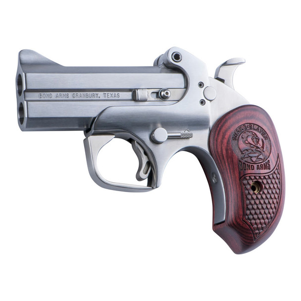 BOND ARMS Snake Slayer Derringer 45 LC/ 410 Ga 3.5in 2rd with Trigger Guard Pistol (BASS45410)