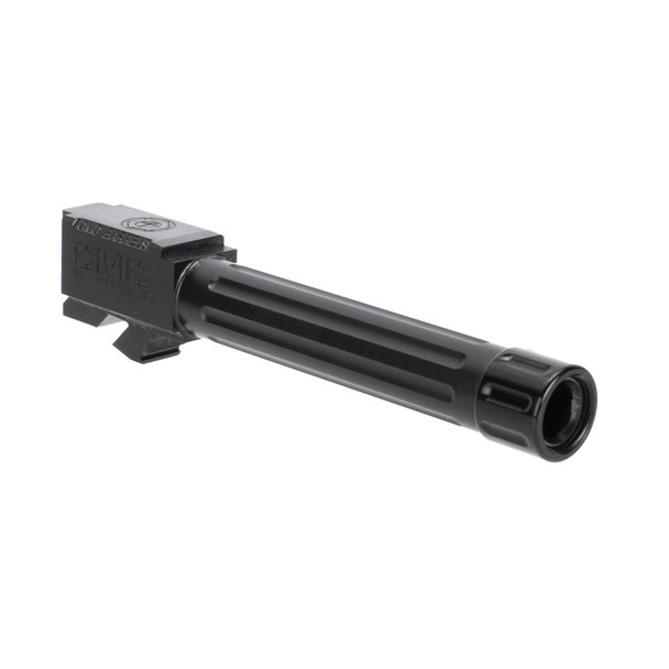 CMC TRIGGERS Glock 19 Fluted Threaded DLC Black Barrel (75521)