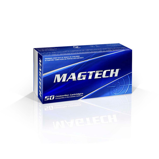 MAGTECH 357 Mag 125 Grain FMJ Flat Ammo, 50 Round Box (357Q)