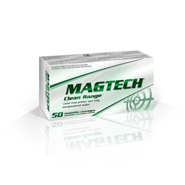 MAGTECH Clean Range 9mm 124 Grain FEB Ammo, 50 Round Box (CR9B)
