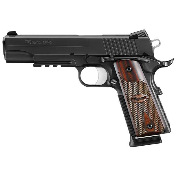 SIG SAUER 1911 Black Nitron 5in 45 ACP 8rd Pistol, CA Compliant (1911R-45-BSS-CA)