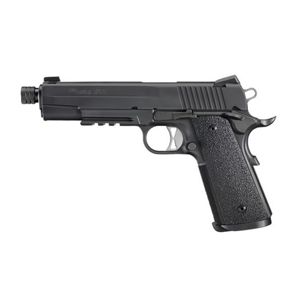 SIG SAUER 1911 Black Tac Ops 5.6in Threaded 45 ACP 8rd Pistol (1911R-45-TACOPS-TB)
