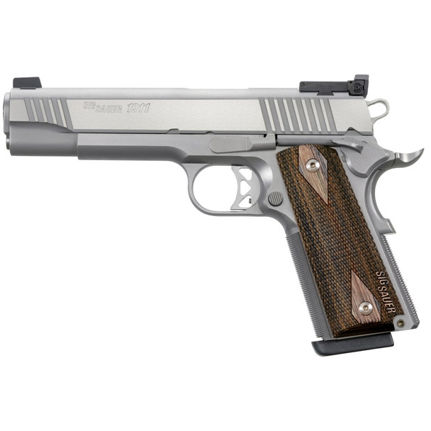 SIG SAUER 1911 Stainless Match Elite 5in 9mm 9rd Pistol (1911T-9-SME)