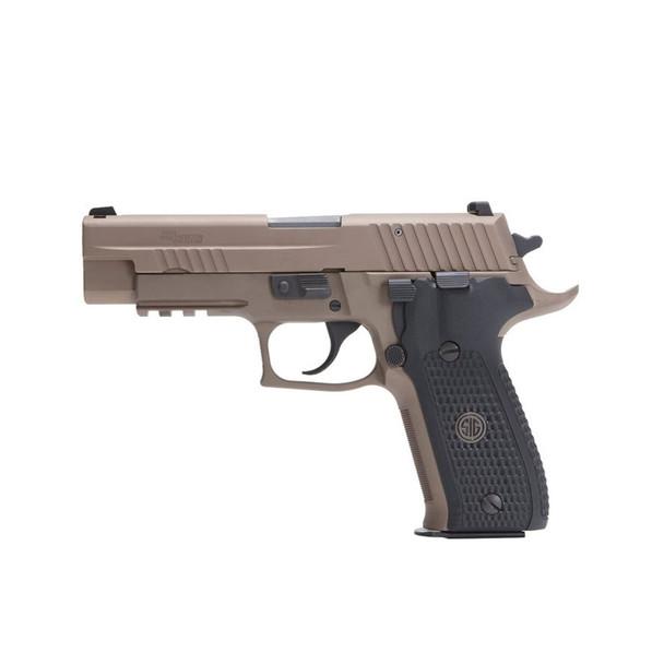 SIG SAUER P226 Emperor Scorpion 9mm 4.4in 15rd Flat Dark Earth Semi-Automatic Pistol (E26R-9-ESCPN)