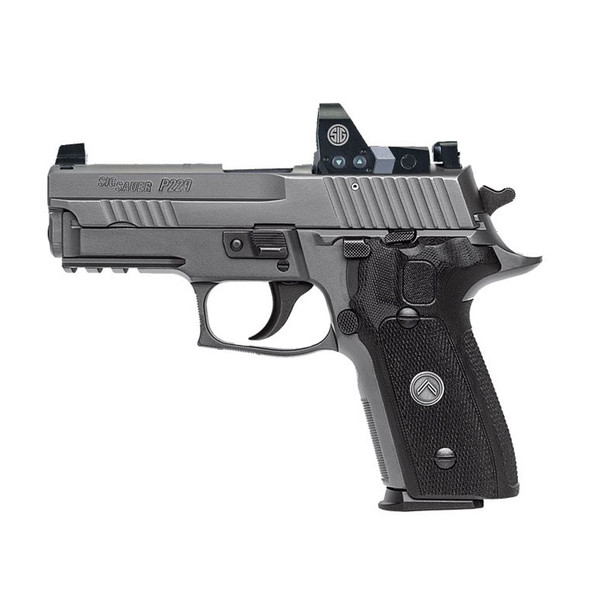SIG SAUER P229 Legion Compact 9mm 3.9in 15rd Semi-Automatic Pistol with Romeo1 Reflex Sight (E29R-9-LEGION-RX)