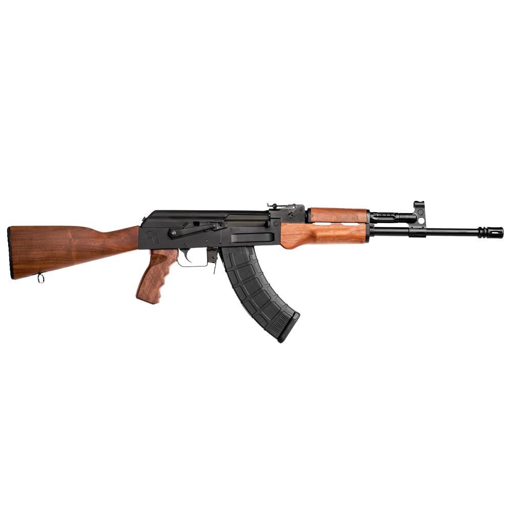 CENTURY ARMS C39V2 Tactical 7 62x39mm 16 5in 30rd Highgrade Walnut Wood  Stock Rifle (RI2880-N)