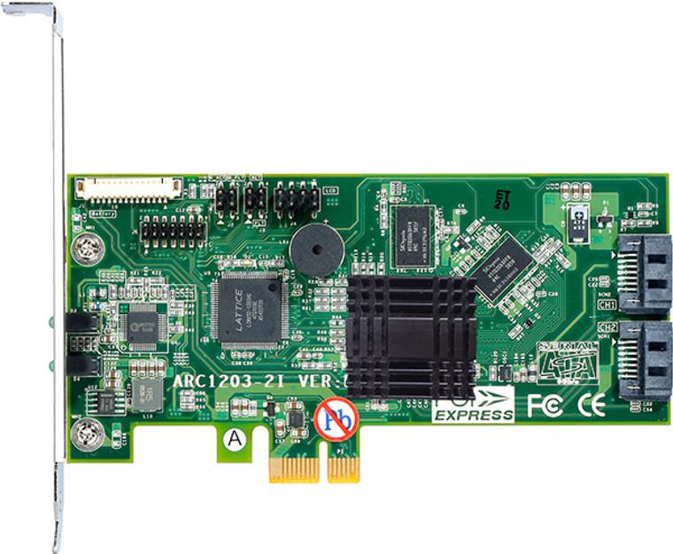 Areca ARC-1203-2i (PCIe 2.0 to SATA RAID Adapter)