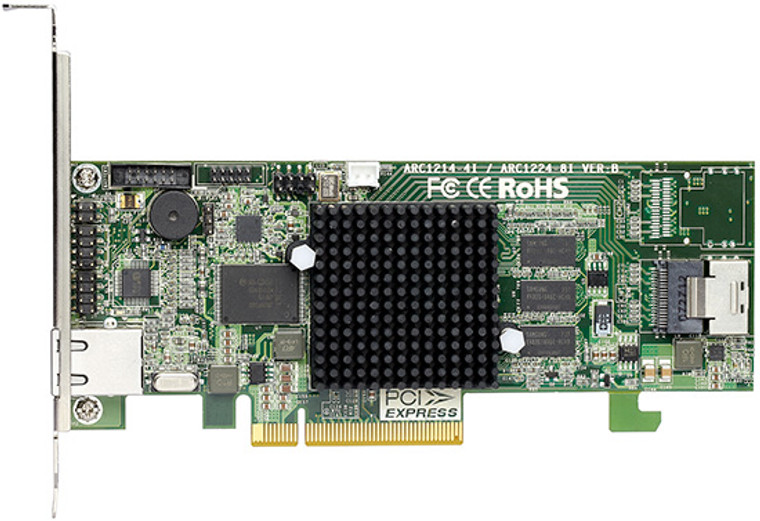 Areca ARC-1264il-12 (PCIe 2.0 to SATA III RAID Adapter)