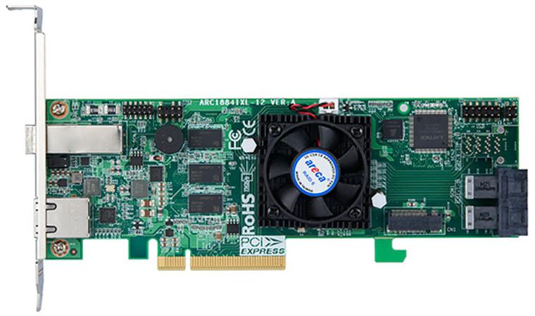 Areca ARC-1884ixl-8 (12 Gb/s SAS/SATA RAID Controller)
