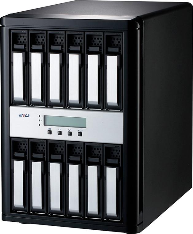 Areca ARC-8050T3-12 (Thunderbolt 3 to 12Gb/s SAS RAID Storage)