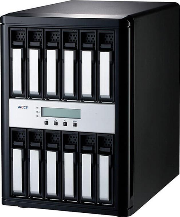 Areca ARC-8050T3U-12 (12 Bay Thunderbolt 3 RAID Enclosure)