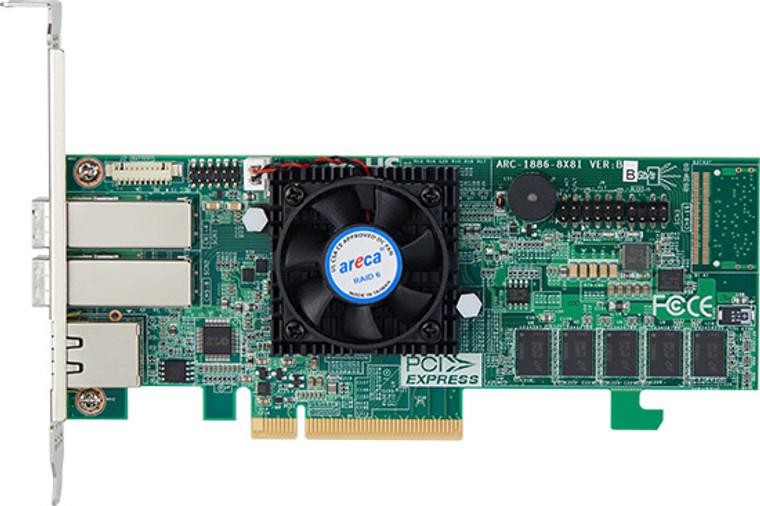Areca ARC-1886-8x (8 Port PCIe Gen 4.0 Tri-Mode RAID Adapters)