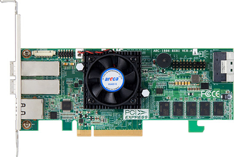 Areca ARC-1886-8x8i (8 Port PCIe Gen 4.0 Tri-Mode RAID Adapters)
