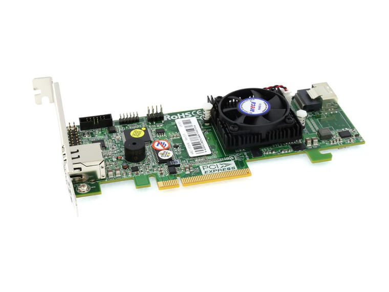 Areca ARC-1215-4x (4-Port PCIe 3.0 External 6Gbps SAS RAID Adapter)