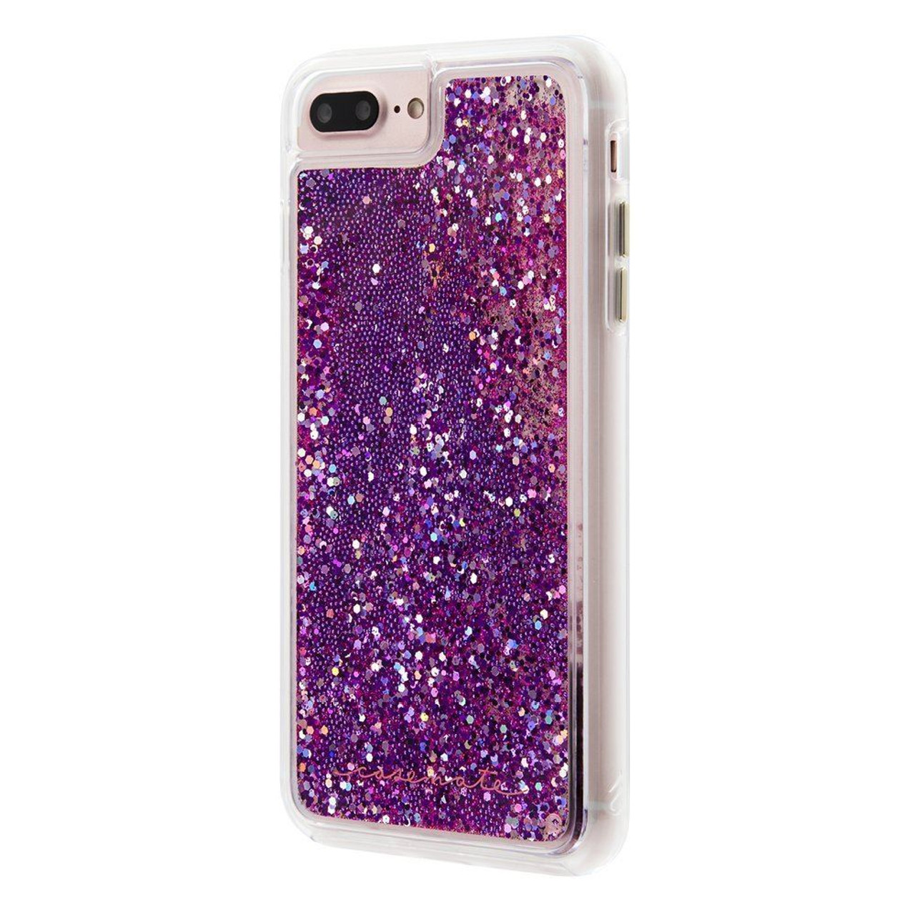 timeless design 276b1 80684 Case-Mate Waterfall Glitter Case For iPhone 8 Plus / 7 Plus / 6 Plus -  Magenta