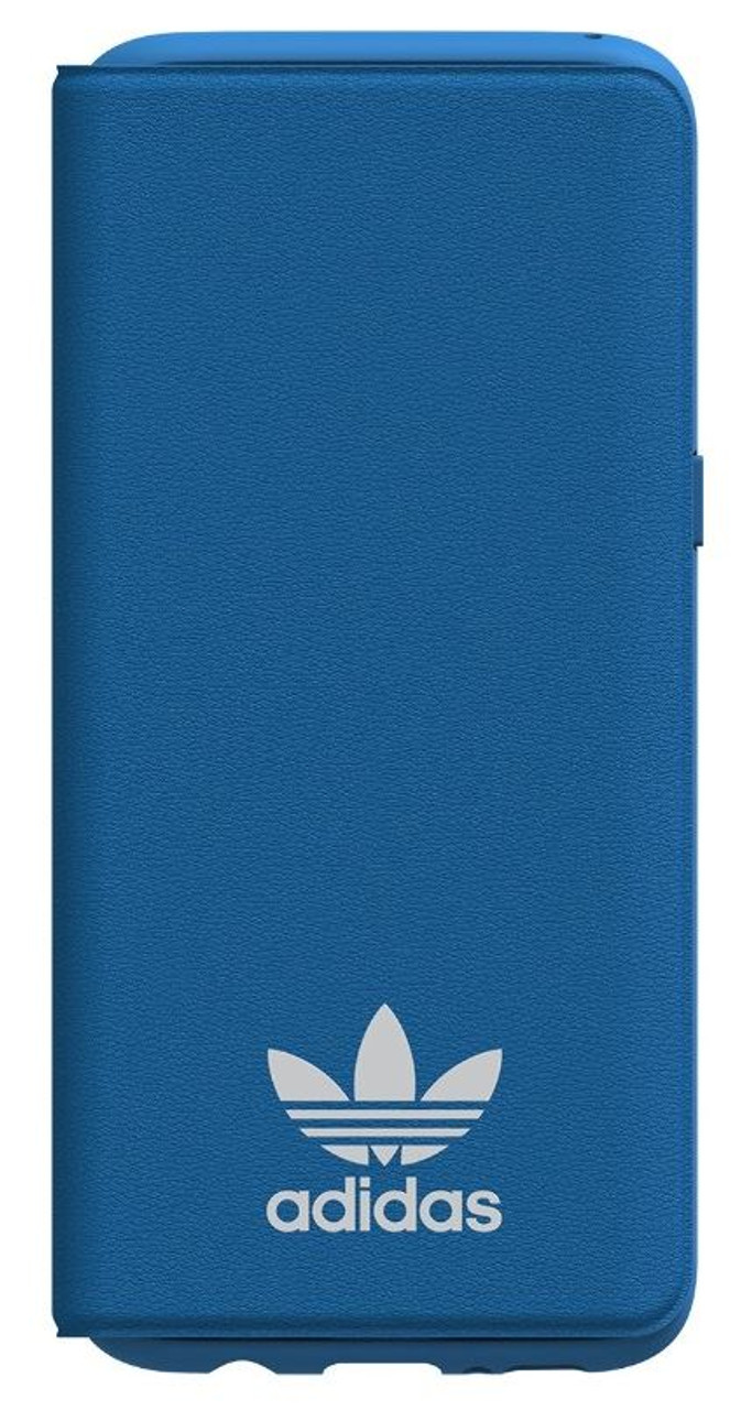 b838ee595c Adidas Originals TPU Flip Booklet Case Cover with Card Holder for Samsung  Galaxy S8 - Bluebird / White