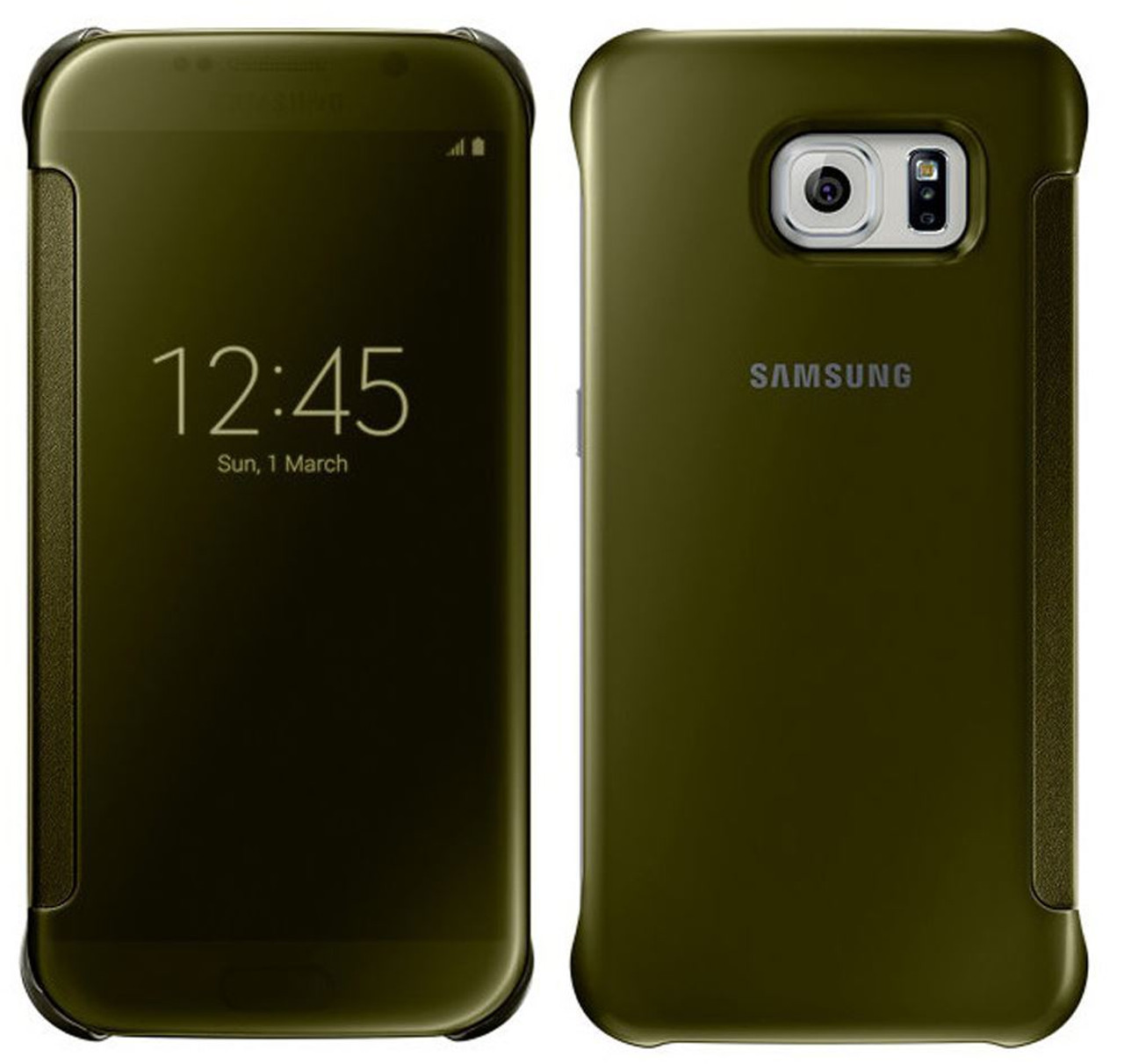 cover samsung s6 gold