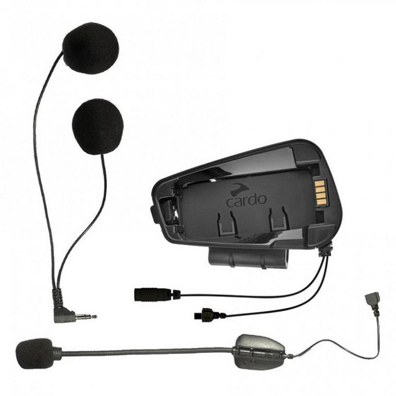 934e72ba1d4 Cardo Scala Rider Audio / Microphone Kit With Hybrid and Corded Booms for  Freecom - SRAK0034 - Sunny Savers Ltd