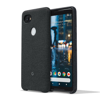 Official Google Pixel 2 XL Fabric Case Cover - Carbon (GA00167)