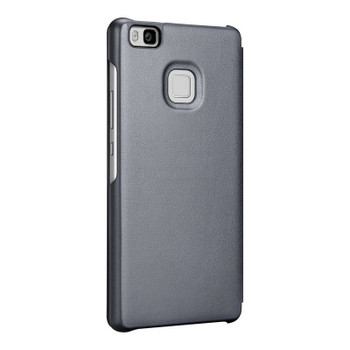 Official Huawei Leather Flip Folio Cover Case for Huawei P9 lite - Grey