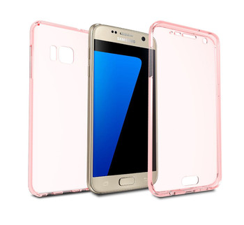 InventCase Full Body Gel Case Cover for Samsung Galaxy S7 - Pink